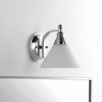 Valery Wall Sconce Nickel / Clear - 1 unit