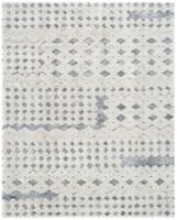 Safavieh Martha Stewart Collection Lucia Shag Area Rug - Light Gray/White - 8 x 10 ft