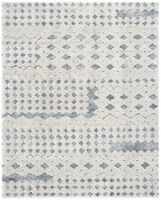 Safavieh Martha Stewart Collection Lucia Shag Area Rug - Light Gray/White - 9 x 12 ft