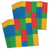 Fun Express 301300 Block Party Lunch Napkins - 16 Piece