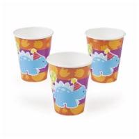 Fun Express 265586 Little Dino 9 oz Paper Cups - 8 Piece - 8