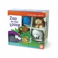 MindWare Zoo On the Loose Board Game