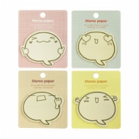 Wrapables Happy Memo Sticky Notes (Set of 4) - 4 Sets