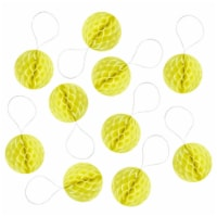 Wrapables Mini Honeycomb Ball Party Decorations, (Set of 20), 1 , Yellow - 1