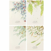 Wrapables Softcover Composition Notebooks and Journals (Set of 4), Branches - 4 Sets