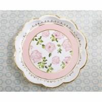 Kate Aspen 28310PK Tea Time Whimsy Paper Plates, Pink - 1