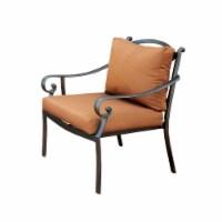 Suella  Outdoor Pillow back Arm Chair