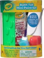 Crayola Bath Tub Mini Paint Set - 9 pc