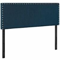Phoebe Full Upholstered Fabric Headboard - Azure - 1