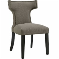 Curve Fabric Dining Chair - Granite - 1