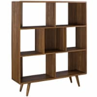 Transmit Bookcase - Walnut - 1