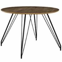 Satellite Circular Dining Table - Walnut - 1