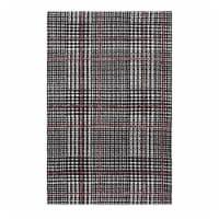 Kaja Abstract Plaid 8x10 Area Rug - 1 unit