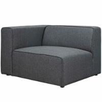 Mingle Fabric Left-Facing Sofa - Gray - 1