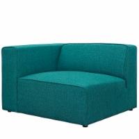 Mingle Fabric Left-Facing Sofa - Teal - 1