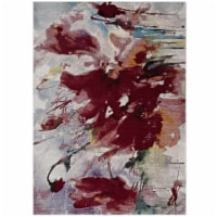 Blume Abstract Floral 8x10 Area Rug - 1 unit