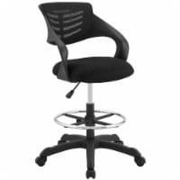 Thrive Mesh Drafting Chair - Black