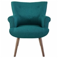 Cloud Upholstered Armchair - Teal - 1