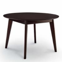 """Vision 45"""" Round Dining Table Cappuccino - 1"""