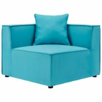Saybrook Outdoor Patio Upholstered Sectional Sofa Corner Chair