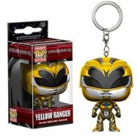 Funko Power Rangers Movie Pocket POP Yellow Ranger Vinyl Figure Keychain