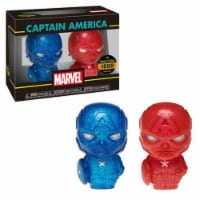 Funko Hikari XS Marvel Captain America Red And Blue Figure Set - 1 Unit