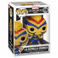 Funko Marvel Lucha Libre POP La Estrella Cosmica Captain Marvel Figure