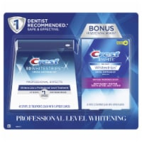 Crest 3D White Whitestrips Professional Effects + Crest 3D White Whitestrips 1 Hour Express - 1 unit