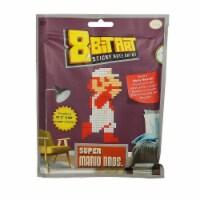Super Mario Classic Fire Mario 8 Bit Sticky Note Art Kit - 1 Unit