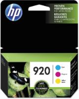 HP 920 Ink Cartridges - Cyan/Magenta/Yellow