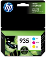 HP 935 Combo Colors Ink Cartridges - Cyan/Magenta/Yellow