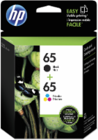 HP 65 Ink Cartridges - Black/Tri-Color