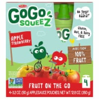 Go Go Squeez Apple Strawberry Applesauce Pouches