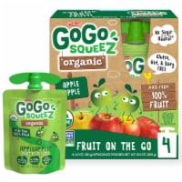 GoGo Squeez Organic Applesauce Pouches