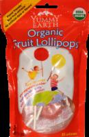 Yummy Earth Organic Fruit Lollipops - 2.8 Oz