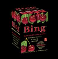 Bing Energy Drink Cherry