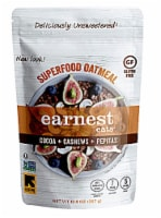 Earnest Eats  Superfood Oatmeal Gluten Free   Cocoa Cashew Pepitas