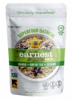 Earnest Eats  Superfood Oatmeal Gluten Free   Mango Green Tea Sesame