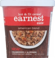 Earnest Eats Hot And Fit Cereal Cup American Blend