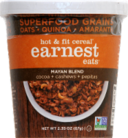 Earnest Eats Hot And Fit  Cereal Cup Mayan Blend