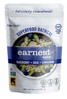Earnest Eats  Superfood Oatmeal Gluten Free   Blueberry Chia Cinnamon