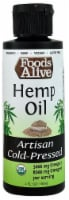 Foods Alive  Organic Artisan Cold Pressed Oil   Hemp