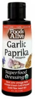 Foods Alive Garlic Paprika Organic Superfood Dressing