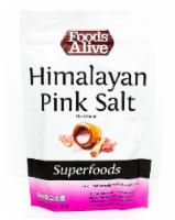 Foods Alive  Himalayan Pink Salt Fine Ground