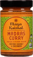 Maya Kaimal Madras Curry Medium Indian Simmer Sauce