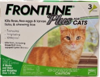 Frontline Plus  for Cats - 3 Tubes
