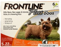 Frontline Plus  for Dogs 5-22 lbs