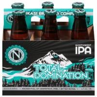 Ninkasi Total Domination IPA Northwest IPA Beer - 6 bottles / 12 fl oz