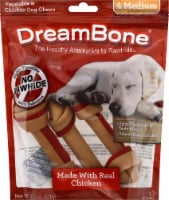 DreamBone Medium Vegetable & Chicken Dog Chews