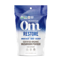 OM Restore Organic Mushroom Nutrition Supplement Powder